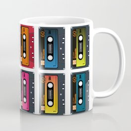 Vintage audio tape Coffee Mug