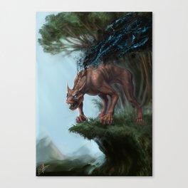 Nano-Beast Canvas Print