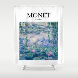 Monet - Water Lilies Shower Curtain