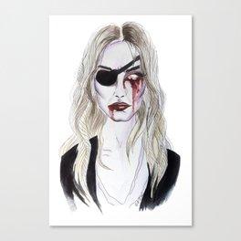 Elle Driver Canvas Print