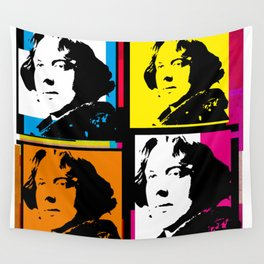 OSCAR WILDE (4-UP POP ART COLLAGE) Wall Tapestry