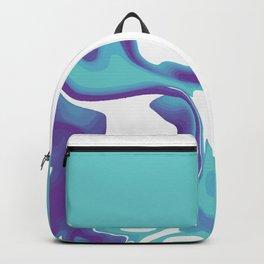 Liquid Marble Purple Shades 010 Backpack