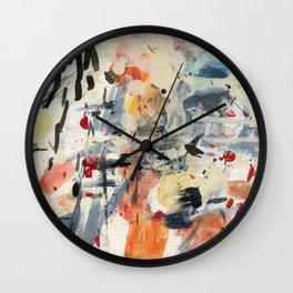 good luck, shallow sky Wall Clock