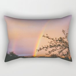 Ojai Rainbow Rectangular Pillow