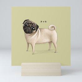 Pug Mini Art Print