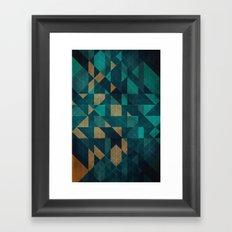 Shuffling Framed Art Print