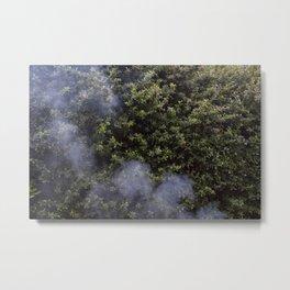 And Smoke Metal Print
