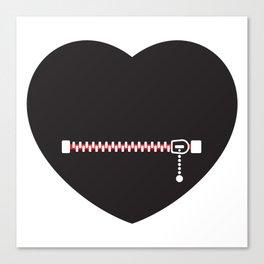 Heart Shut Up! by Thom Van Dyke Canvas Print