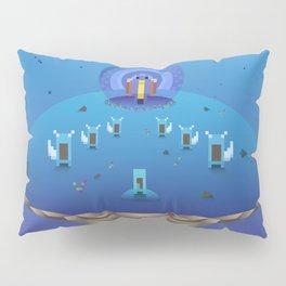 Blue Family from Gameboy Pillow Sham