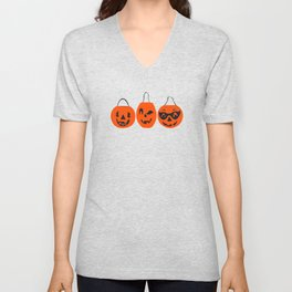 Halloween Magic- Turquoise Unisex V-Neck
