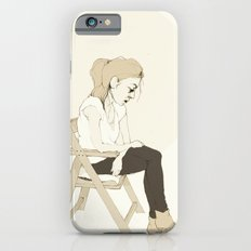 girl sitting Slim Case iPhone 6s
