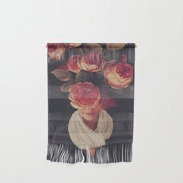 The smile of Roses Wall Hanging