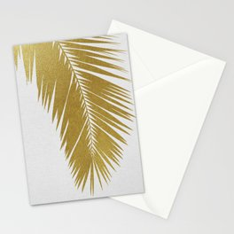 Palm Leaf Gold I Stationery Cards