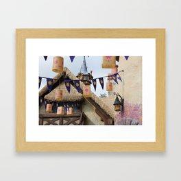 Tangled Tower Framed Art Print