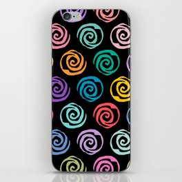 Circles Abstract Seamless Pattern 2 iPhone Skin