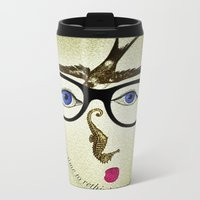 Eyewear Metal Travel Mug