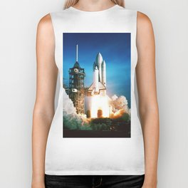 Space Shuttle Launch Biker Tank
