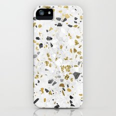Glitter and Grit iPhone SE Slim Case