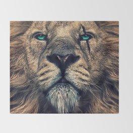 King of Judah Throw Blanket