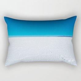 Salt Flats, Salar de Uyuni, Bolivia Rectangular Pillow