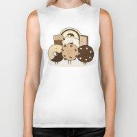 cookies Biker Tanks featuring I ❤️ cookies by maRiLisa