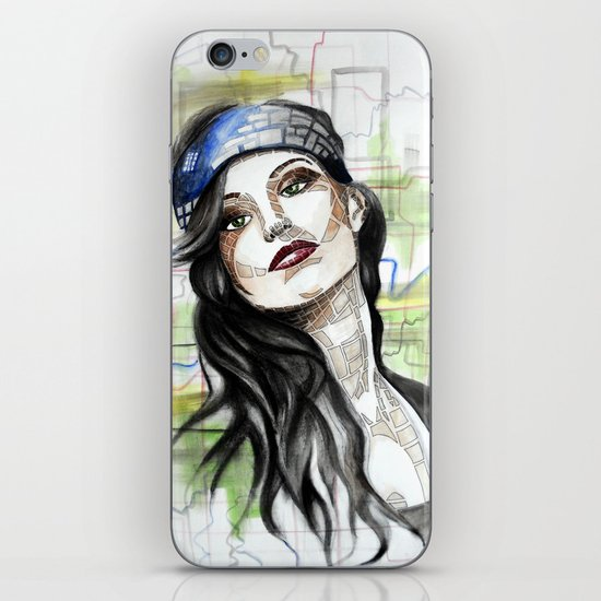 Katie iPhone & iPod Skin