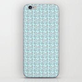 White Bubble 02 iPhone Skin