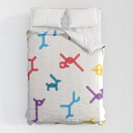 Balloon animals pattern #1 Comforters