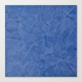 Tuscan Blue Plaster | Corbin Henry | Faux Finishes Canvas Print