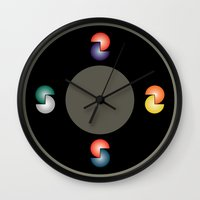 cinema Wall Clocks featuring Cinema by Sants Armand