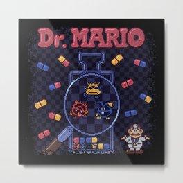Mario Doctor Metal Print