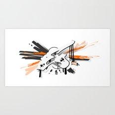 3D GRAFFITI - EX Art Print