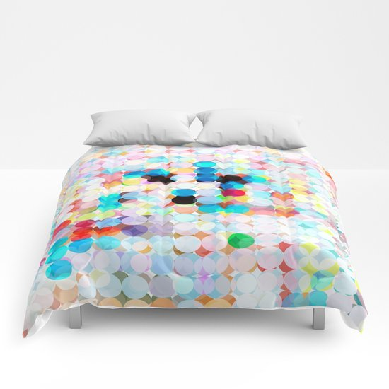 dot transparency Comforters