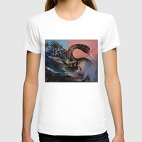 black swan T-shirts featuring Black Swan by Michael Creese