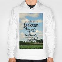percy jackson Hoodies featuring Jackson by KimberosePhotography