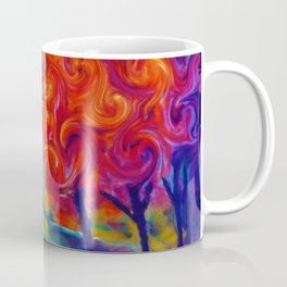 Abstract Landscape Art Painting Coffee Mug