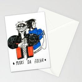 Meninas da Folha Stationery Cards