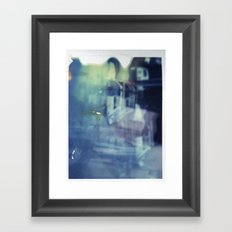 And yet the most ordinary silence reigns in these narrow places Framed Art Print