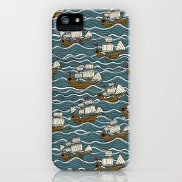 Nautical but nice. iPhone Case