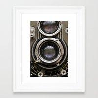 photographer Framed Art Prints featuring photographer by Da Axw