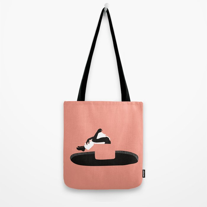 Flying above the black hole Tote Bag
