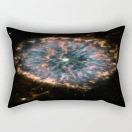 Glowing Eye Nebula Rectangular Pillow