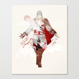 Assassins Creed: Ezio Auditore da Firenze Canvas Print