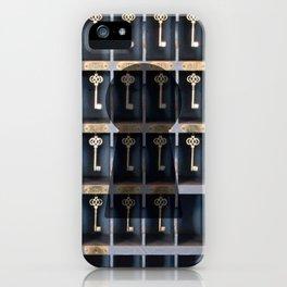 Vintage Keys  iPhone Case