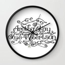 My Name Wall Clock