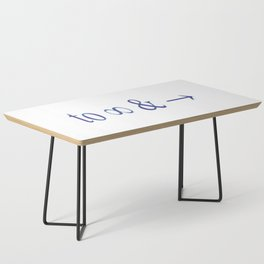 To infinity and beyond Coffee Table