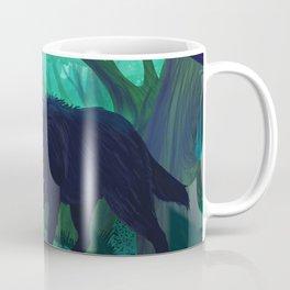 Red and wolf Coffee Mug