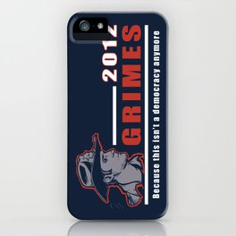 He will keep us safe. iPhone Case