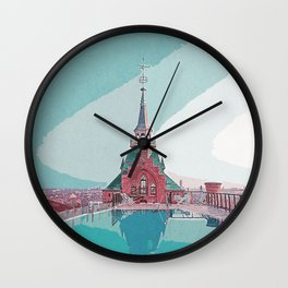 Trip to Venice Wall Clock