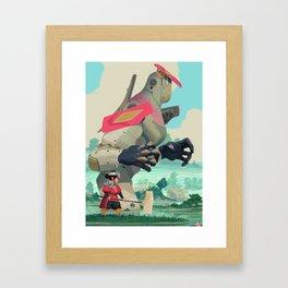 Pelle and Shovel Framed Art Print